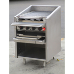 "MagiKitch'n FM-624-RMB Gas Char Broiler - Radiant, 24"" Wide, Great Condition"
