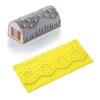 Martellato 30TS009 Decorative Silicone Mat for Log Dessert Mold, Dripping Design