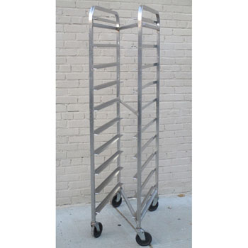 M&E Meat Rack Nasting ZS-10-12x30 Stainless Steel, Excellent Condition