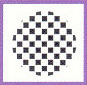 Checkerboard Plastic Decorating Cake Stencil