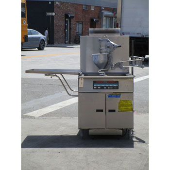 Pitco Donut Fryer With Manual Donut Dropper DD24R-MS, Very Good Condition
