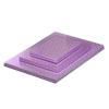 Rectangular Lilac Cake Board, 1/2