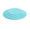Round Tahiti Blue Cake Boards, 1/2