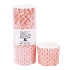 Simply Baked Coral Wave Large Paper Baking Cup, Pack of 20