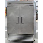 "True T-49F 54"" Two Section Solid Door Freezer - 42.1 cu. ft., Great Condition"