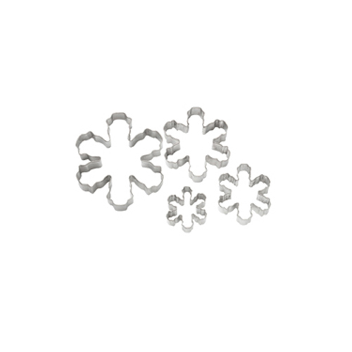 Wilton Snowflake Cookie Cutters, 4-Piece Set